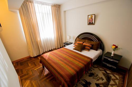 Cama o camas de una habitación en Elite Apartment