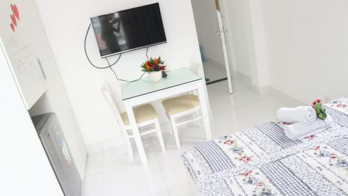 TV/Unterhaltungsangebot in der Unterkunft Smiley Apartment 9