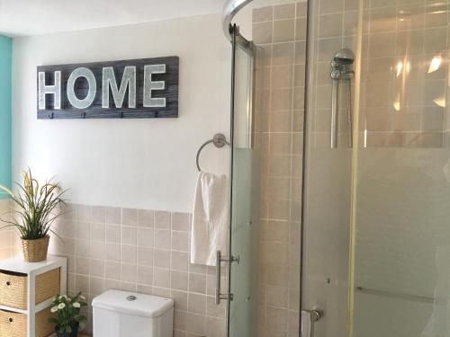 Een badkamer bij Panoramic Apartments Sitges