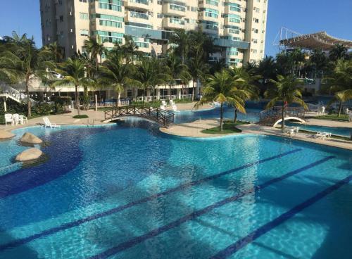 A piscina localizada em Bora Bora Resort Barra da Tijuca ou nos arredores
