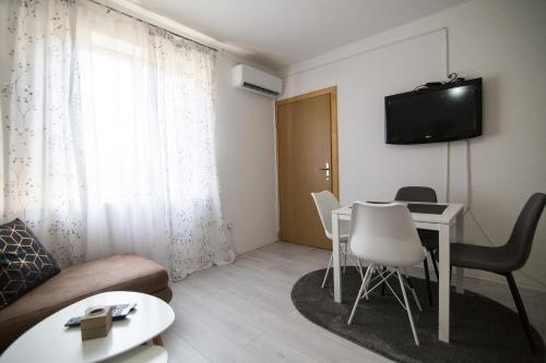 TV i/ili zabavni centar u objektu Apartman Vukojevic