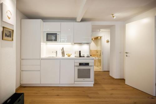 Küche/Küchenzeile in der Unterkunft Exclusive Apartment Il sogno di Scipione