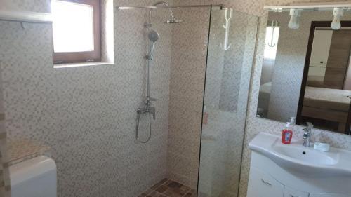 A bathroom at Casa Arina