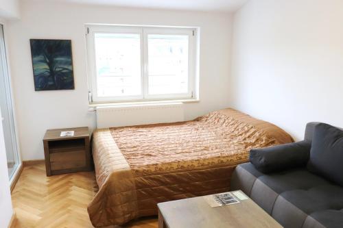 Krevet ili kreveti u jedinici u okviru objekta Apartment Max