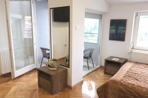 Prostor za sedenje u objektu Apartment Max