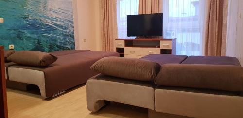 Posedenie v ubytovaní Aqua Dreams