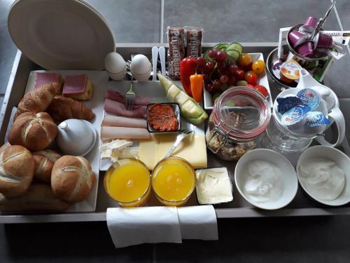 Ontbijt beschikbaar voor gasten van Buitendijks Genieten