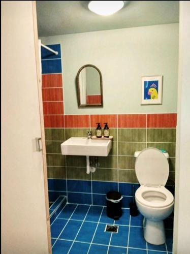 Ένα μπάνιο στο Cocoyam Indigo