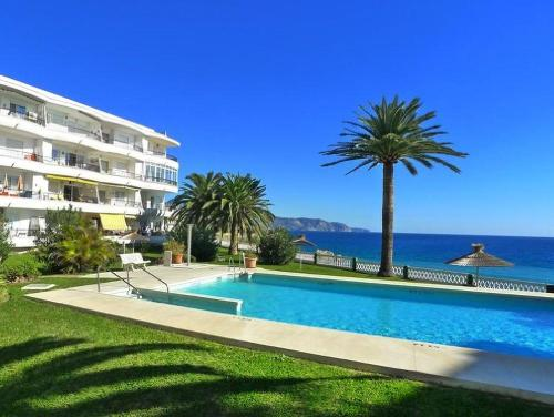 The swimming pool at or near Sunny Nerja Apartments