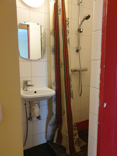 Kylpyhuone majoituspaikassa Villa Alle