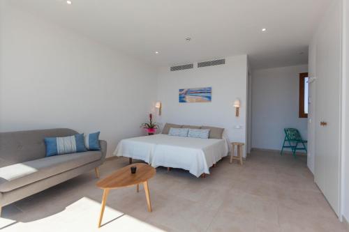 Cama o camas de una habitación en Apartamentos Villa Primera