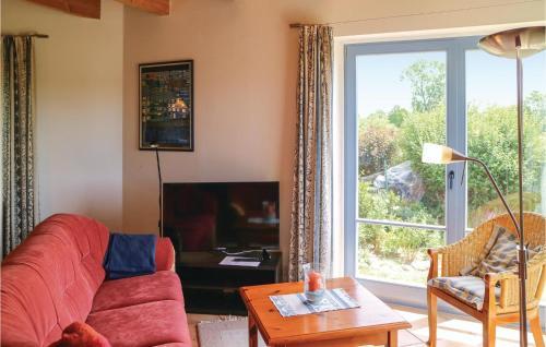Ein Sitzbereich in der Unterkunft Stunning home in Wolgast w/ WiFi and 1 Bedrooms