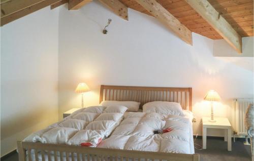 Ein Bett oder Betten in einem Zimmer der Unterkunft Stunning home in Wolgast w/ WiFi and 1 Bedrooms