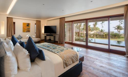 Llit o llits en una habitació de The Edge Bali