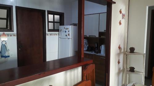 A cozinha ou cozinha compacta de Praia das Dunas Residence Club