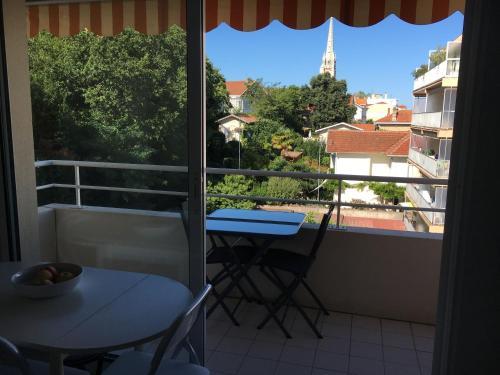 A balcony or terrace at Studio Croix des Marins