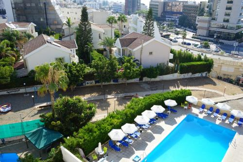 A view of the pool at Polyxeni Hotel Apartments or nearby