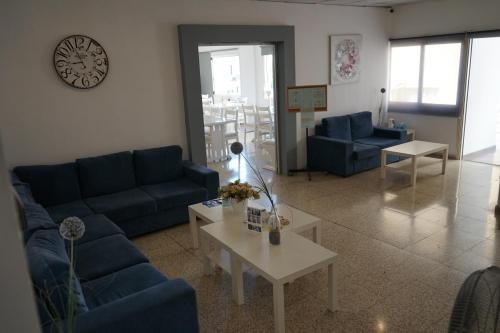 A seating area at Polyxeni Hotel Apartments
