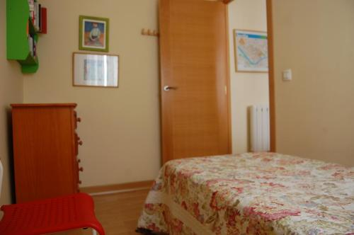 A bed or beds in a room at Apartment Verde