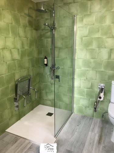A bathroom at Vinhas do Calhau