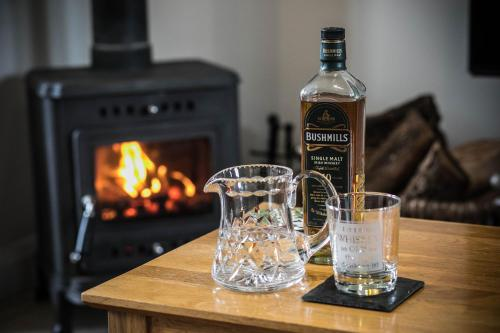 Drinks at Bayview Farm Holiday Cottages