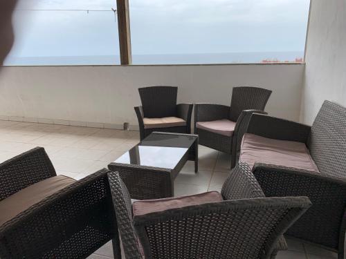 A balcony or terrace at 3C Fuerteventura