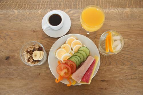 Breakfast options available to guests at Lava Water - Miðhraun