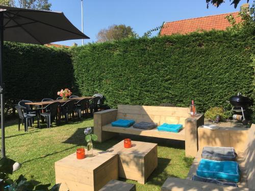 مطعم أو مكان آخر لتناول الطعام في Vita Nova op Ameland