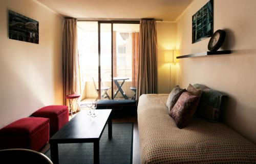 Zona de estar de Apartamento Living Montt