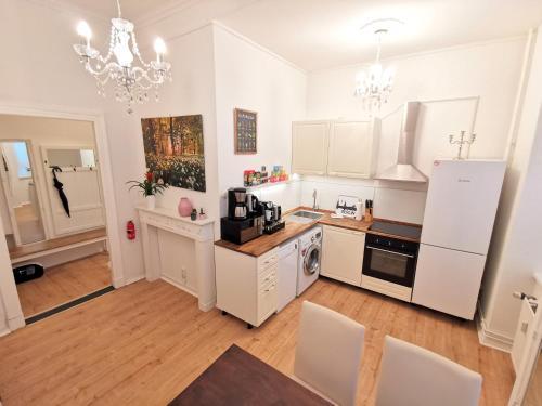 "A kitchen or kitchenette at Lovely-Flats ""Kamminer VH"""