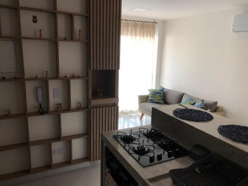 A cozinha ou cozinha compacta de Veranno Di Porto-50mts Piscinas Naturais
