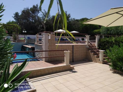 Πισίνα στο ή κοντά στο Villas Eva with Panoramic Sea View