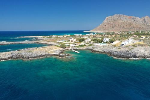 A bird's-eye view of Kavos Beach Apartments & Studios