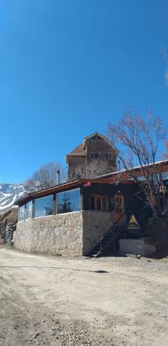 Lodge Cordillera during the winter