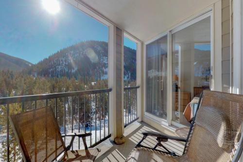 A balcony or terrace at Pines Condominiums 2095