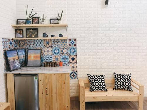 Annam Maison TB - Cozy studio with rooftop terrace garden