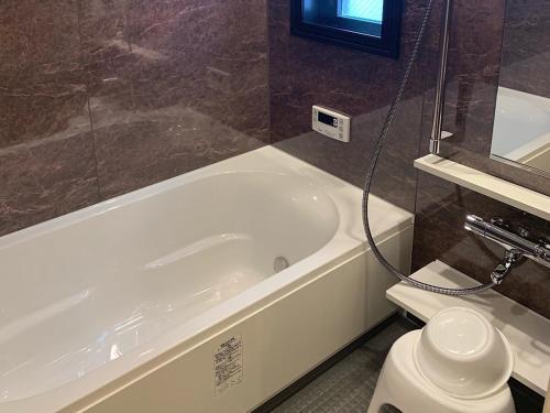 A bathroom at European House Reisen