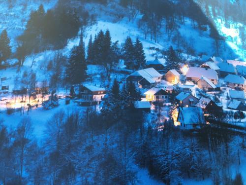 L'établissement Maison independante de montagne en ALSACE en hiver