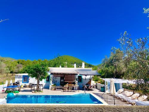 The swimming pool at or close to Holiday Villa in Ibiza