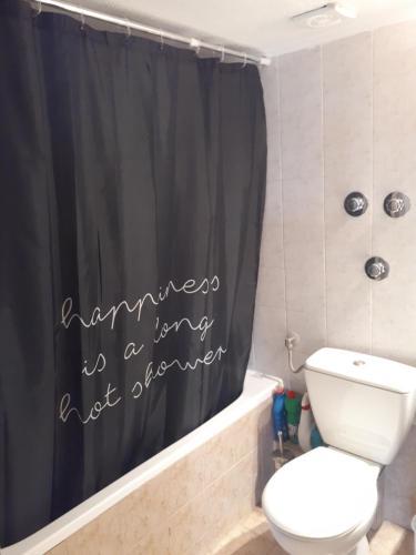A bathroom at Serres Balcony Appartment