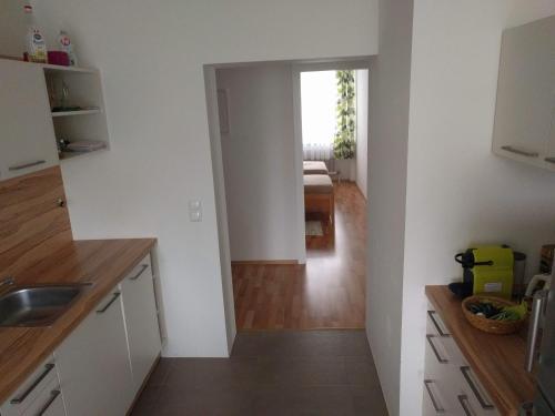 Küche/Küchenzeile in der Unterkunft Apartment Abl