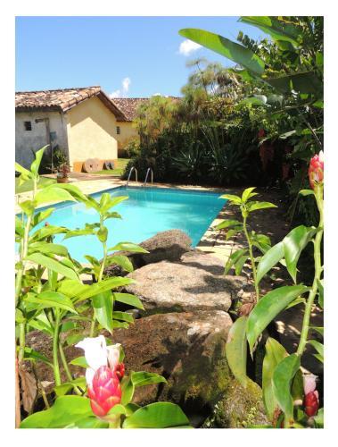 A piscina localizada em Pousada Fazenda São Luiz ou nos arredores