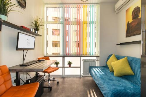 Гостиная зона в Студия для бизнеса