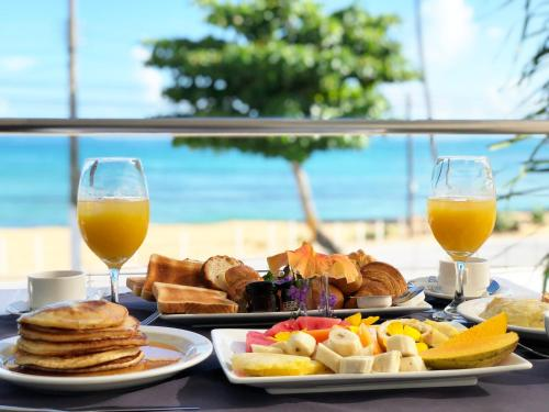 Breakfast options available to guests at Albachiara Hotel - Las Terrenas