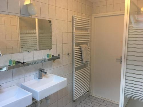Koupelna v ubytování Vita Nova op Ameland