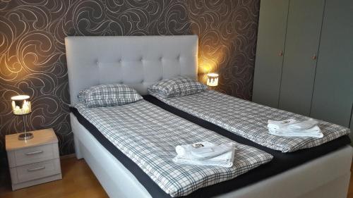Lova arba lovos apgyvendinimo įstaigoje Best Apartments City Centre