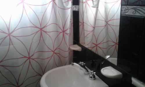 Un baño de Apart Altos Del Bolson