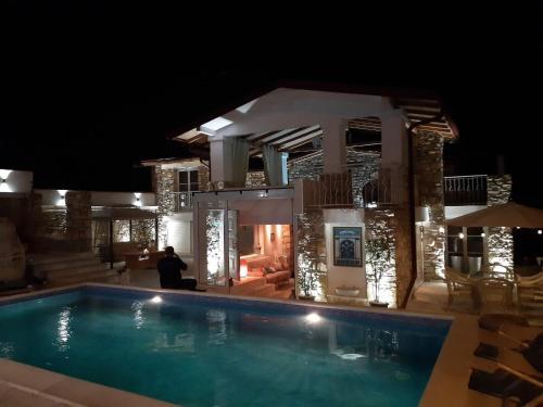 The swimming pool at or near Villa Moon