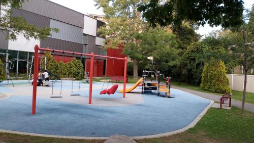 Children's play area at Apartment 2 in Cote Saint-Luc Montreal