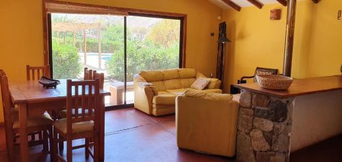 Zona de estar de Refugios Pisco Elqui